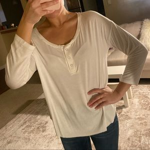American Eagle Soft & Sexy Henley T-shirt